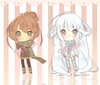 Closed Point Adoptables Winter Girls Auction By Pixsu Adopts D Lcll Image