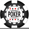 Free Poker Chip Clipart Image