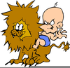 Angry Lion Clipart Image