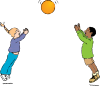 Playing Ball Clip Art