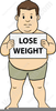 Free Losing Weight Clipart Image