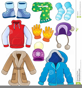 Clipart Winter Clothes Image