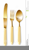 Spoon And Fork Clipart Image