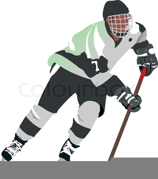 Ice Hockey Goalie Clipart Free Images At Clker Com Vector Clip