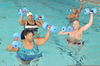 Senior Swimming Ymca Clipart Image