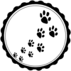 Pet Paws Icon Clip Art
