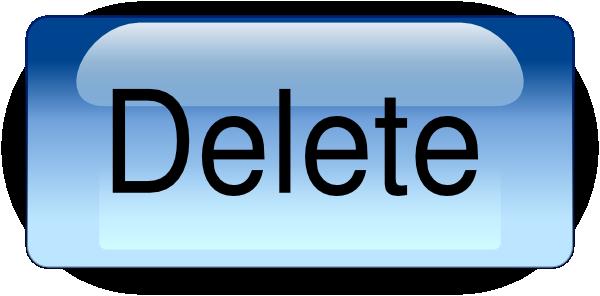 Delete Button.png Clip Art at Clker.com - 23.8KB
