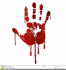 Clipart Bloody Rock Image