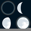 Moon Phases Clipart Image