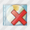 Icon Cd Box Delete Image