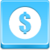 Free Blue Button Icons Dollar Coin Image