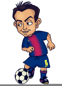 Funny Football Player Clipart | Free Images at Clker.com ...