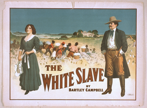 The White Slave By Bartley Campbell. Image