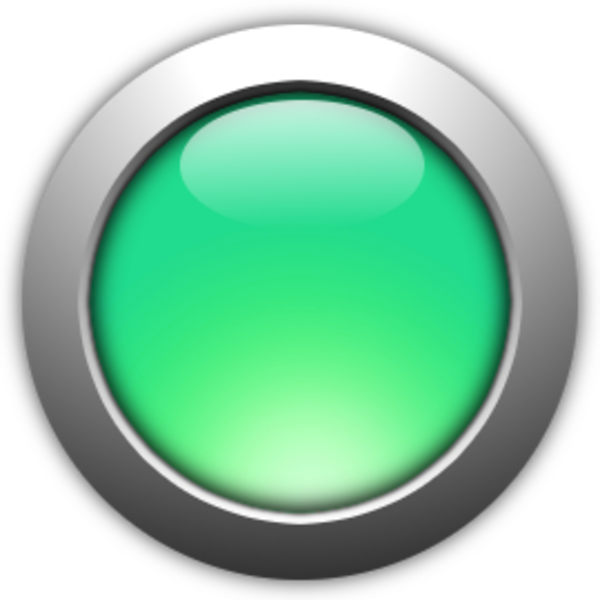 Button green free images at vector clip art - Green button ...