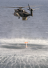 An Mh-53e Sea Dragon Retrieves A Q-14 Image