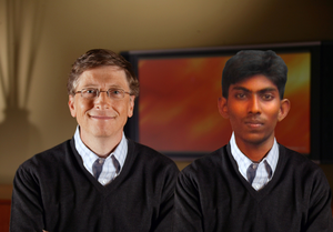 India No Hardware Engineer Anto With Billgates Image