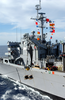 Sacramento Conducts Both An Underway Replenishment Image