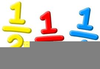 Fractions Using Clipart Image