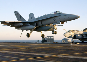 An Fa-18c  Hornet  From The Image