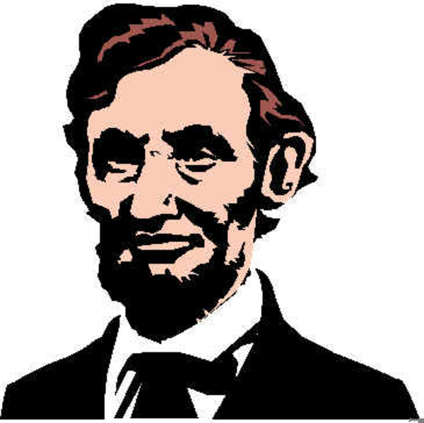 free abe lincoln clipart free images at clker com vector clip rh clker com abraham lincoln memorial clip art abe lincoln silhouette clip art free