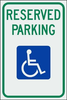 Reserved Parking Handicap Image
