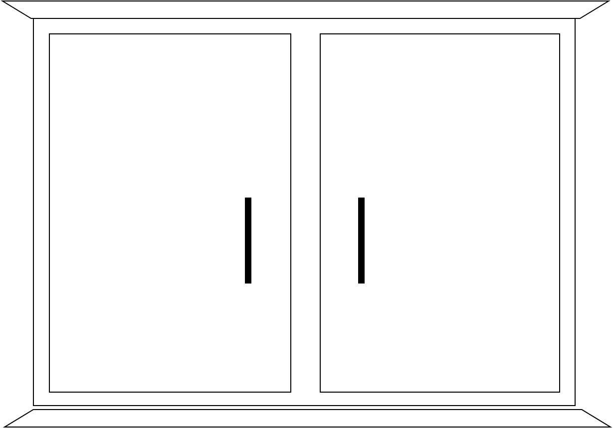 Cupboard Bw Free Images At Clker Com Vector Clip Art