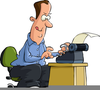 Typing Animated Clipart Image