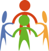 Holding Hands Community  Clip Art