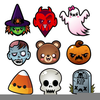 Cute October Clipart Image