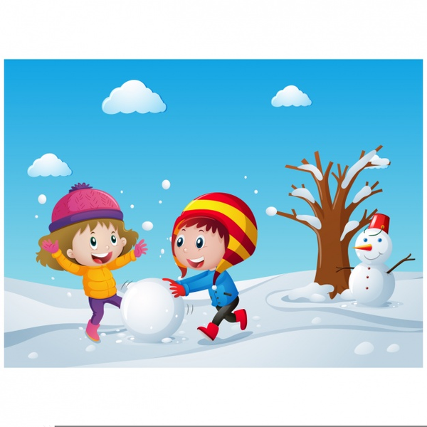 Winter Clip Art, PNG, 950x723px, Winter, Art, Cartoon, Child, Clothing  Download Free