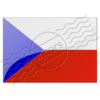 Flag Czech Republic Image