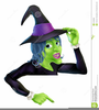 Friendly Witch Clipart Image