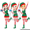 Christmas Helpers Clipart Image