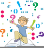 Animated Punctuation Marks Clipart Image