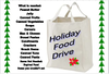 Holiday Food Drive Clipart Image