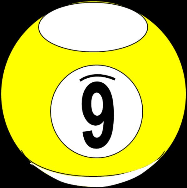 billiard ball 7 free images at clkercom vector clip