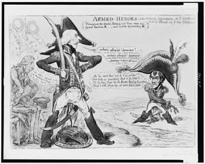 Armed-heroes  / Js. Gillray Inv. & F. Image