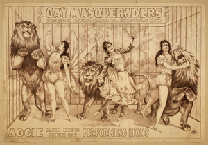 Gay Masqueraders Gorgeous Extravaganza Co. Everything New. Image