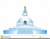 Buddhist Temple Clipart Image