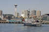 Uss John Paul Jones (ddg-53) Arrives At Seattle, Wash. For Seafair Fleet Week 2003 Image
