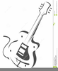 Electric Guitar Clipart Free Image