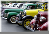 Clipart Of Classic And Antique Automobiles Image