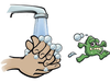 Clipart Hand Washing Sign Image