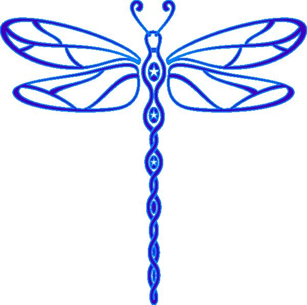 Lisa S Dragonfly Clip Art at Clker.com - vector clip art online ...