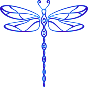 Lisa S Dragonfly Clip Art