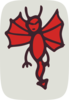 Demon With Wings Clip Art