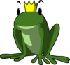 Prince Frog Clip Art