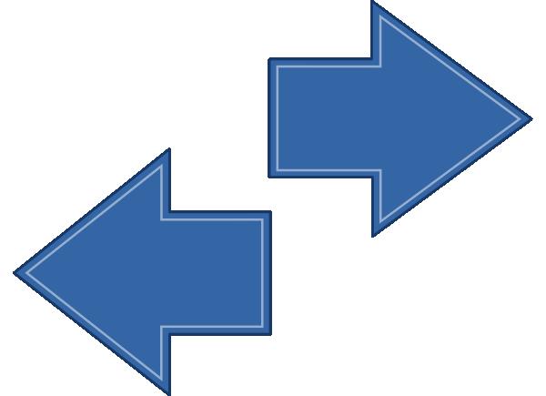 Arrow Left Right Clip Art at Clker.com  vector clip art online