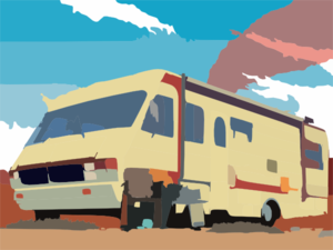 Recreational Vehicle X Clip Art