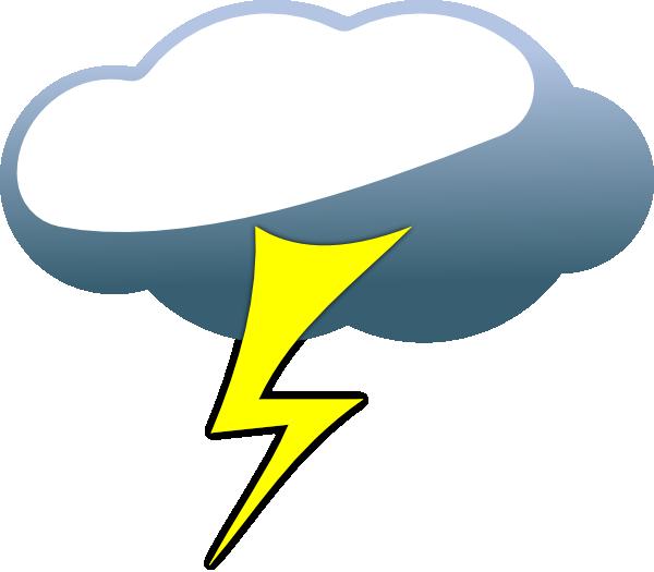 lightning cloud clip art at clker com vector clip art online rh clker com
